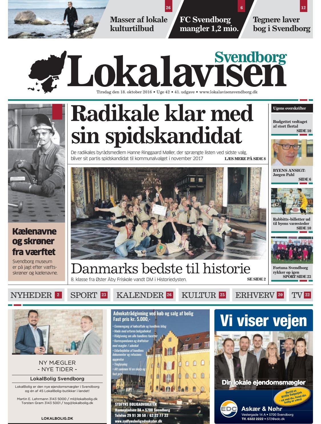 7d443a90 Lokalavisen Svendborg uge 42 by Lokalavisen Svendborg - issuu