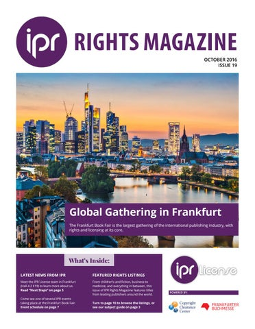 Frankfurt Book Fair 2016 By IPR License