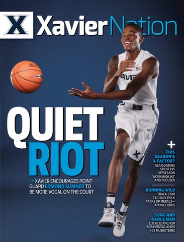 7f3dd5c1ccf Xavier Nation - The Official Magazine for Xavier Athletics - Fall ...