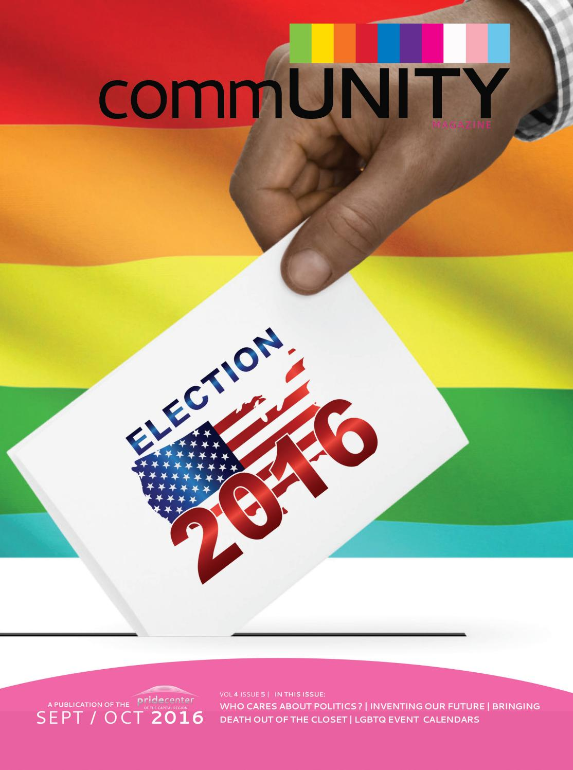 Community Vol 4 Issue 5 by Pride Center of the Capital Region - issuu