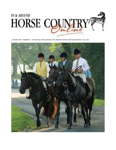 e03270448 In & Around Horse Country Fall 2016 by Marion Maggiolo - issuu