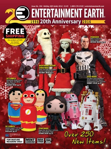 3da3cb7e1e Entertainment Earth Holiday Gift Guide 2016 Catalog by Entertainment ...