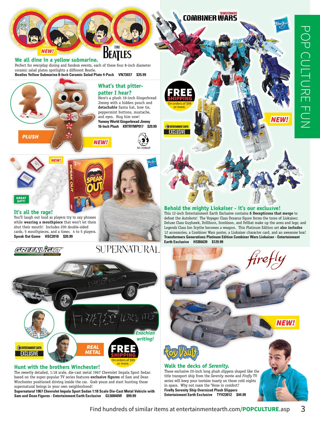 59ac6438a85f Entertainment Earth Holiday Gift Guide 2016 Catalog by Entertainment Earth  - issuu