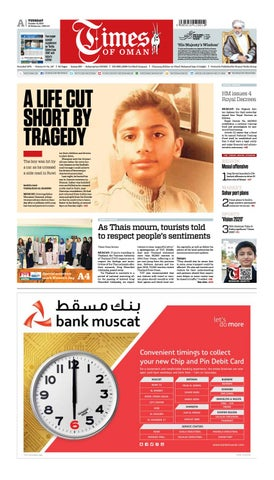 Times of Oman - October 18, 2016 by Muscat Media Group - issuu