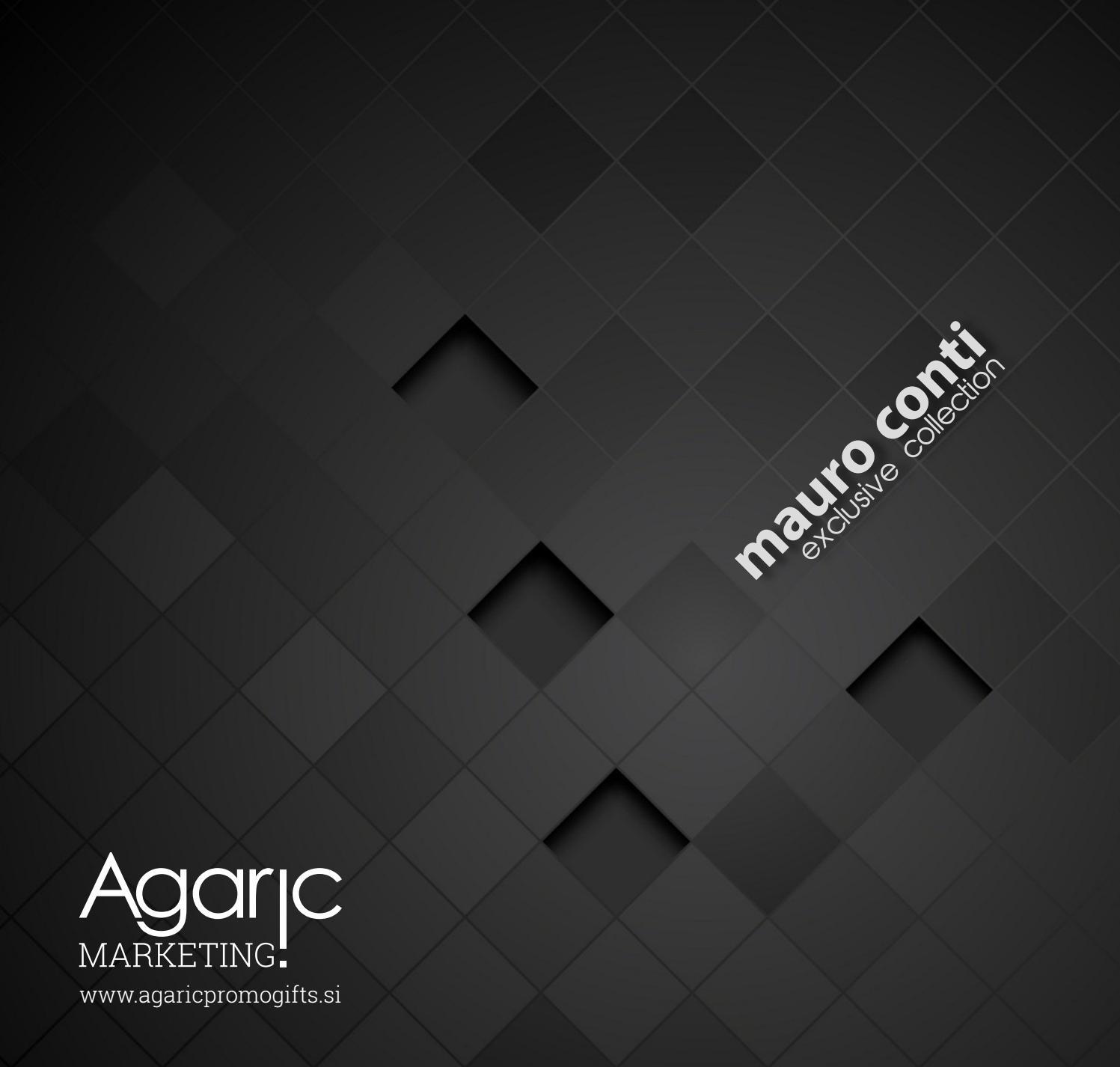 Mauro Conti Catalogue 2016 By Agaric D O O Issuu