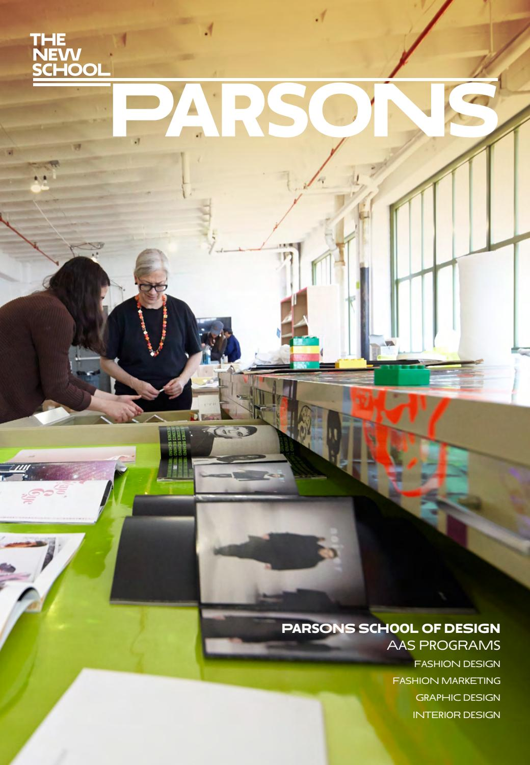 2016 Parsons Aas Viewbook By The New School Issuu