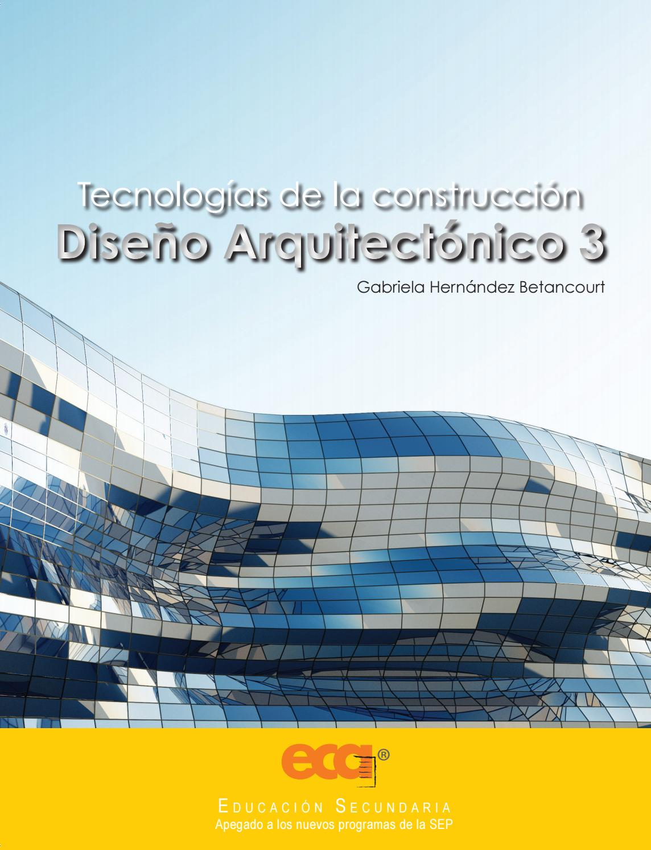 Dise O Arquitect Nico 3 By Ediciones Eca Issuu