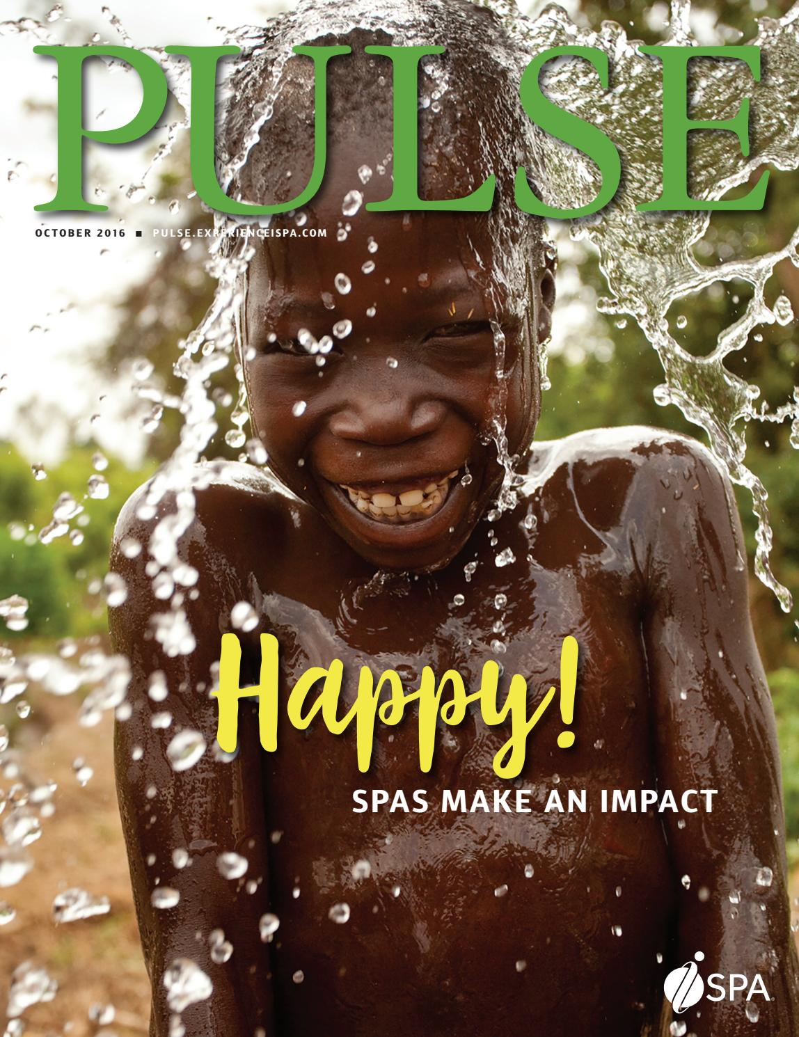 Pulse SPA Magazine October 2016 by Bel SPA - issuu