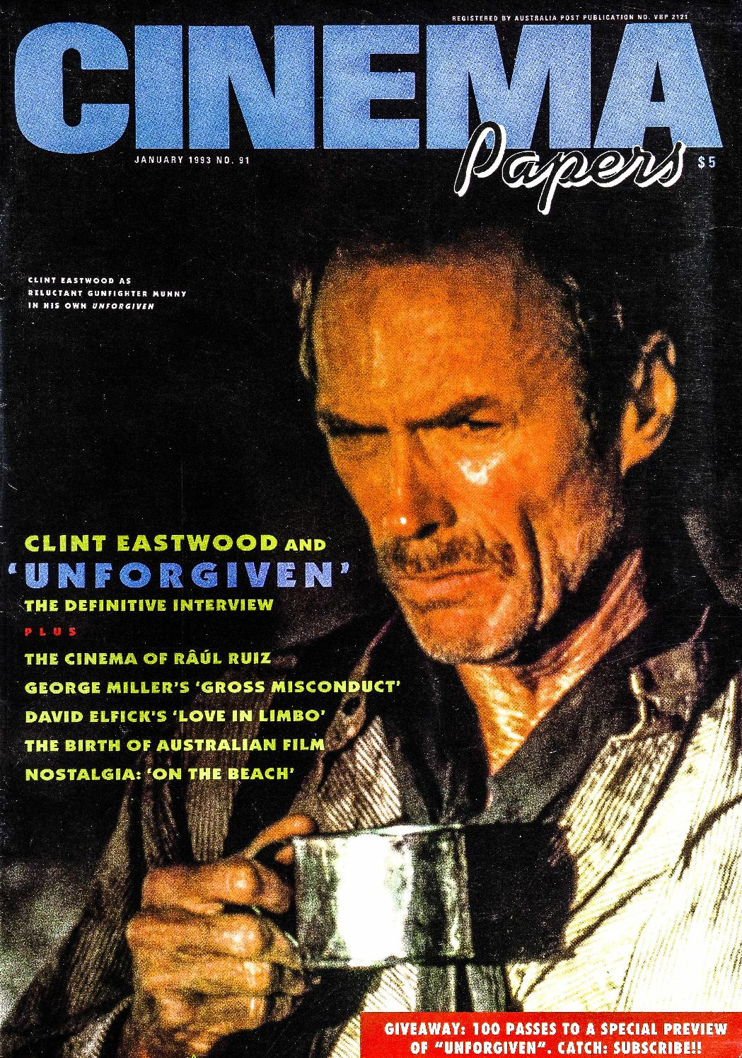 big sale 3706f d908a Cinema Papers No.91 January 1993 by UOW Library - issuu
