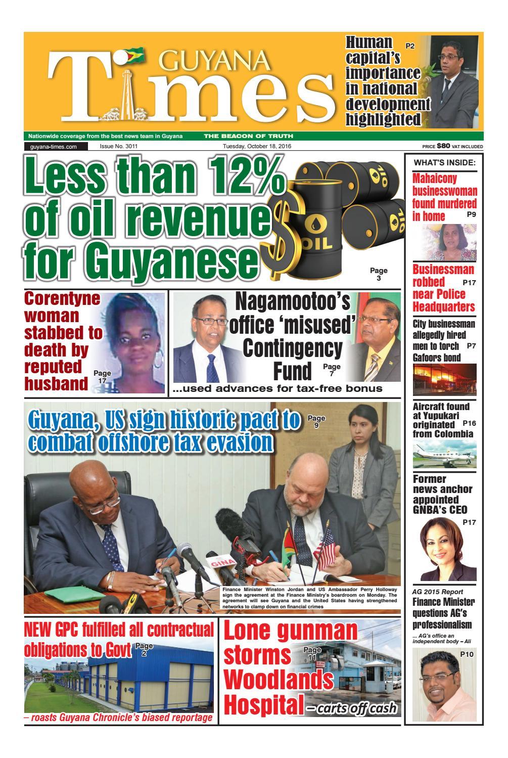 Guyana Times Daily by Gytimes - issuu