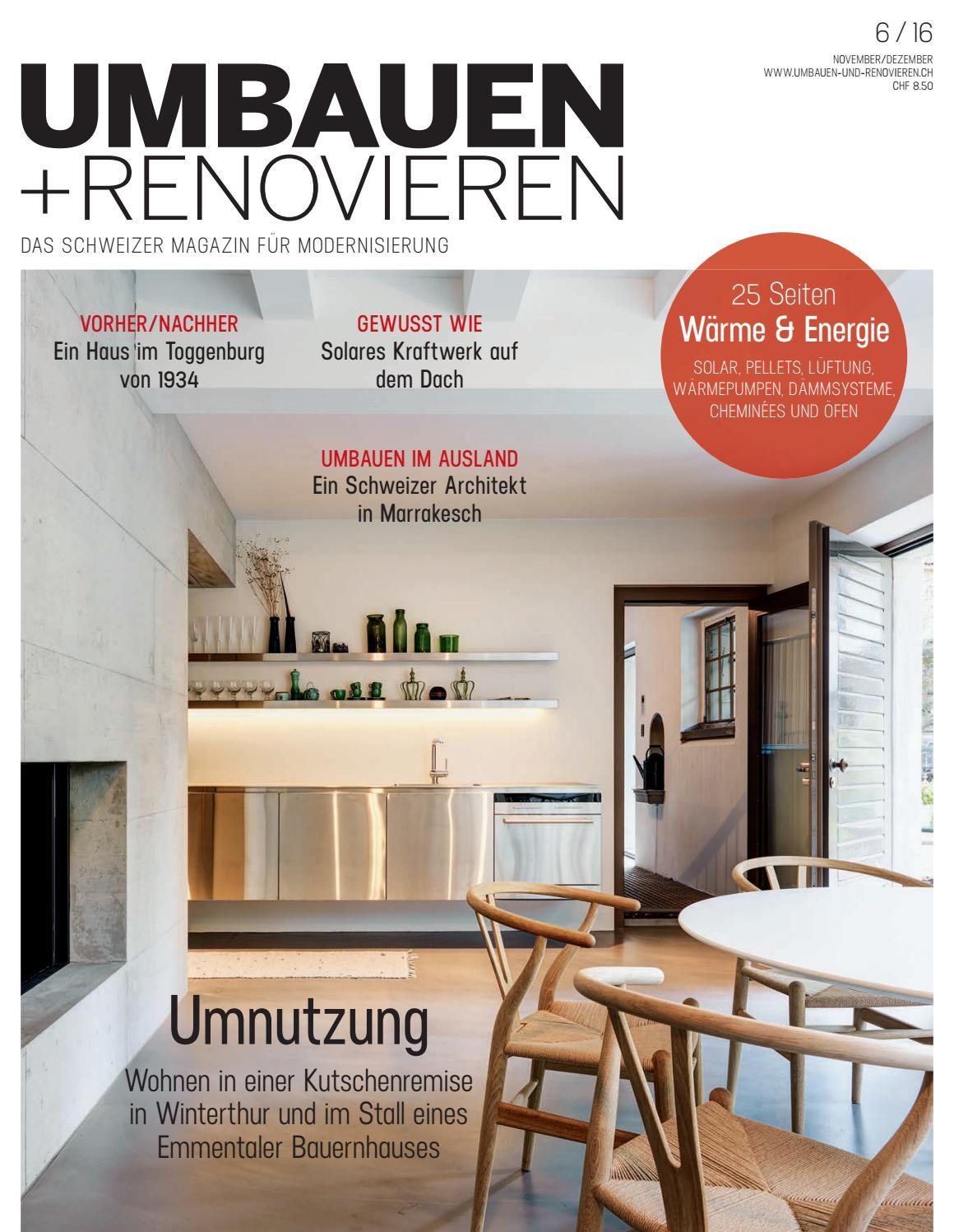 umbauen renovieren 06 2016 by archithema verlag issuu. Black Bedroom Furniture Sets. Home Design Ideas