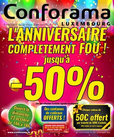 Doc 08 L Anniversaire Complètement Fou By Conforama Luxembourg