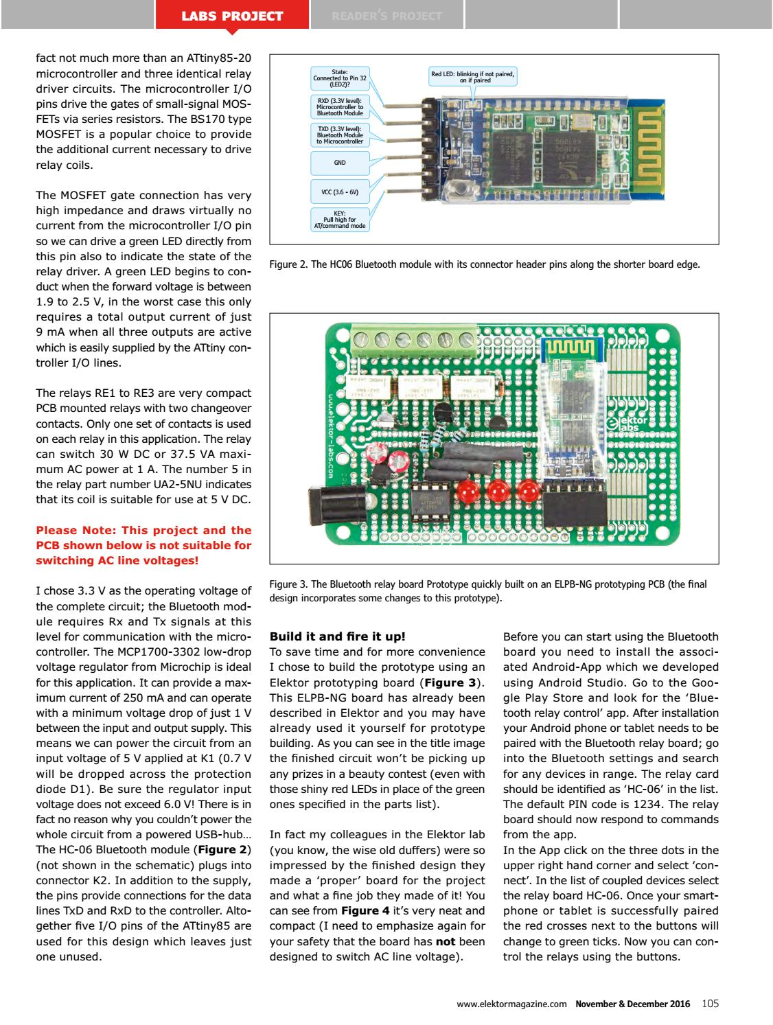 Elektor Magazine Edition 6 2016 By Issuu Circuit For Relay Driver