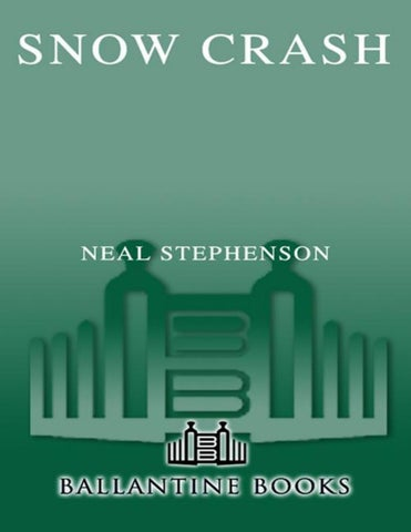 0f7c20c8b64fd Snow crash neal stephenson by Stavious Crowe - issuu