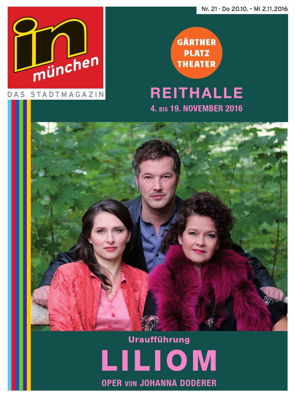in münchen Ausgabe 21/2016 by InMagazin Verlags GmbH - issuu