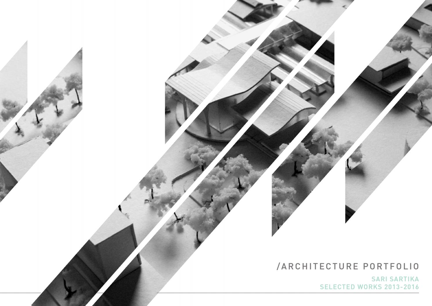 Architecture portfolio 2013 2016 by sari sartika issuu for Innenarchitektur portfolio