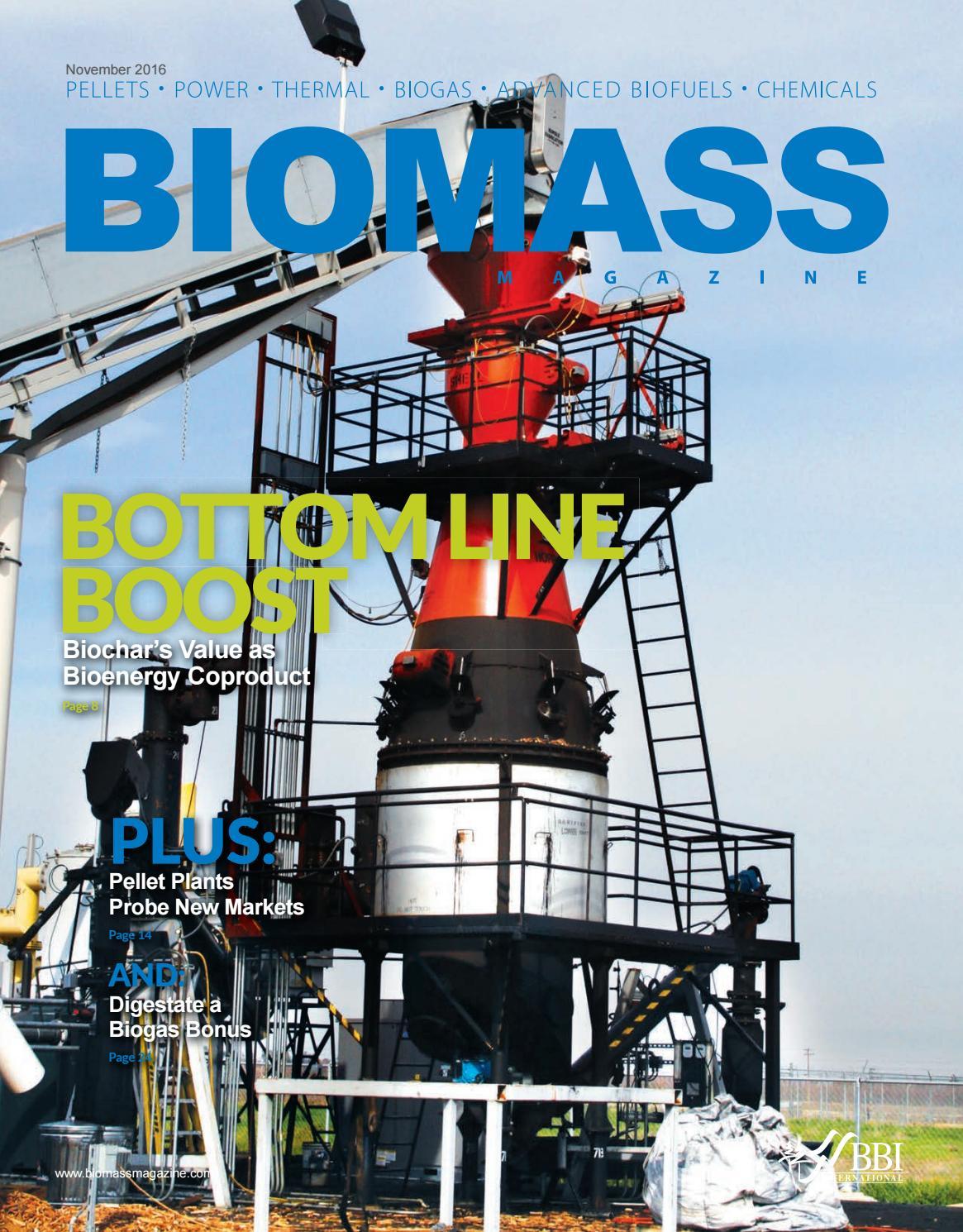 2016 Biomass Magazine by BBI International - issuu