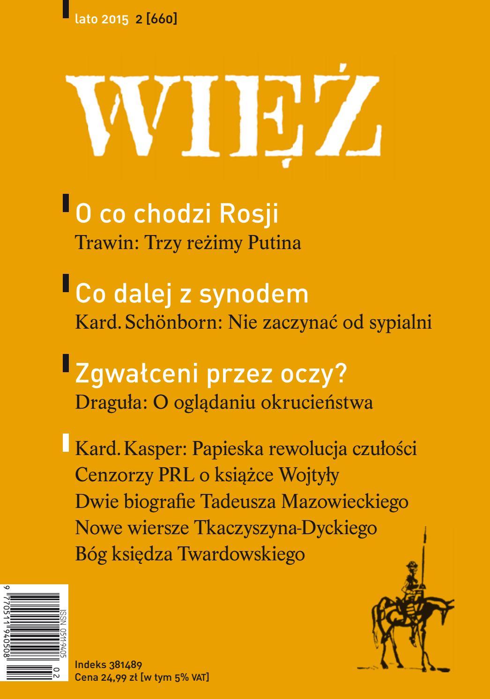 f135f0b6af670 Wiez 2/2015 by Towarzystwo WIĘŹ - issuu