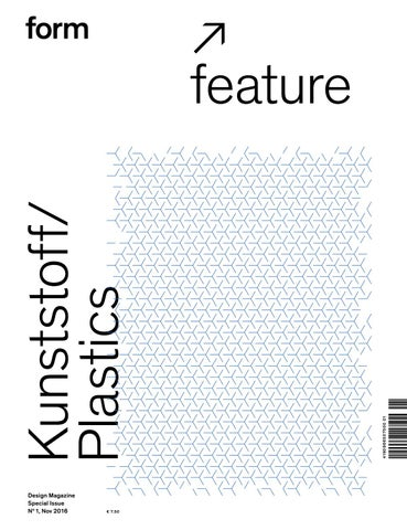 form feature 1. Kunststoff Plastics by Verlag form GmbH   Co. KG - issuu be33daead9