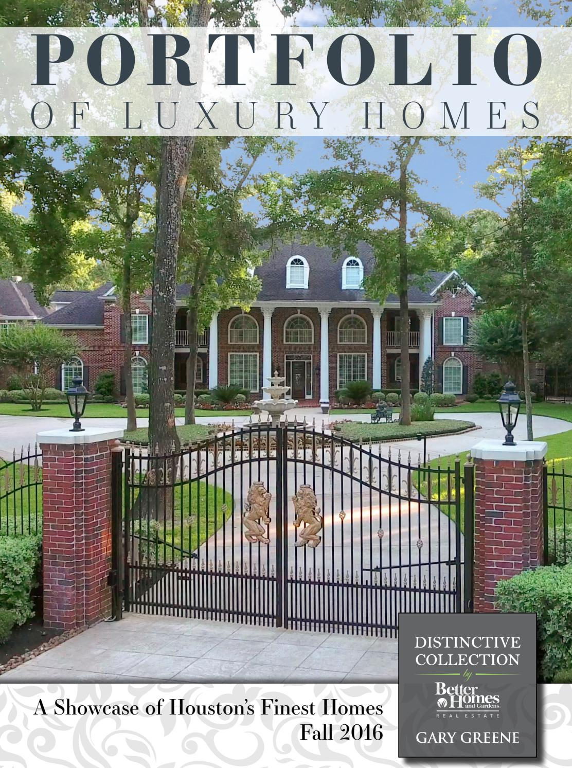 Portfolio Of Luxury Homes Fall 2016 Better Homes And Gardens Real Estate Gary Greene By