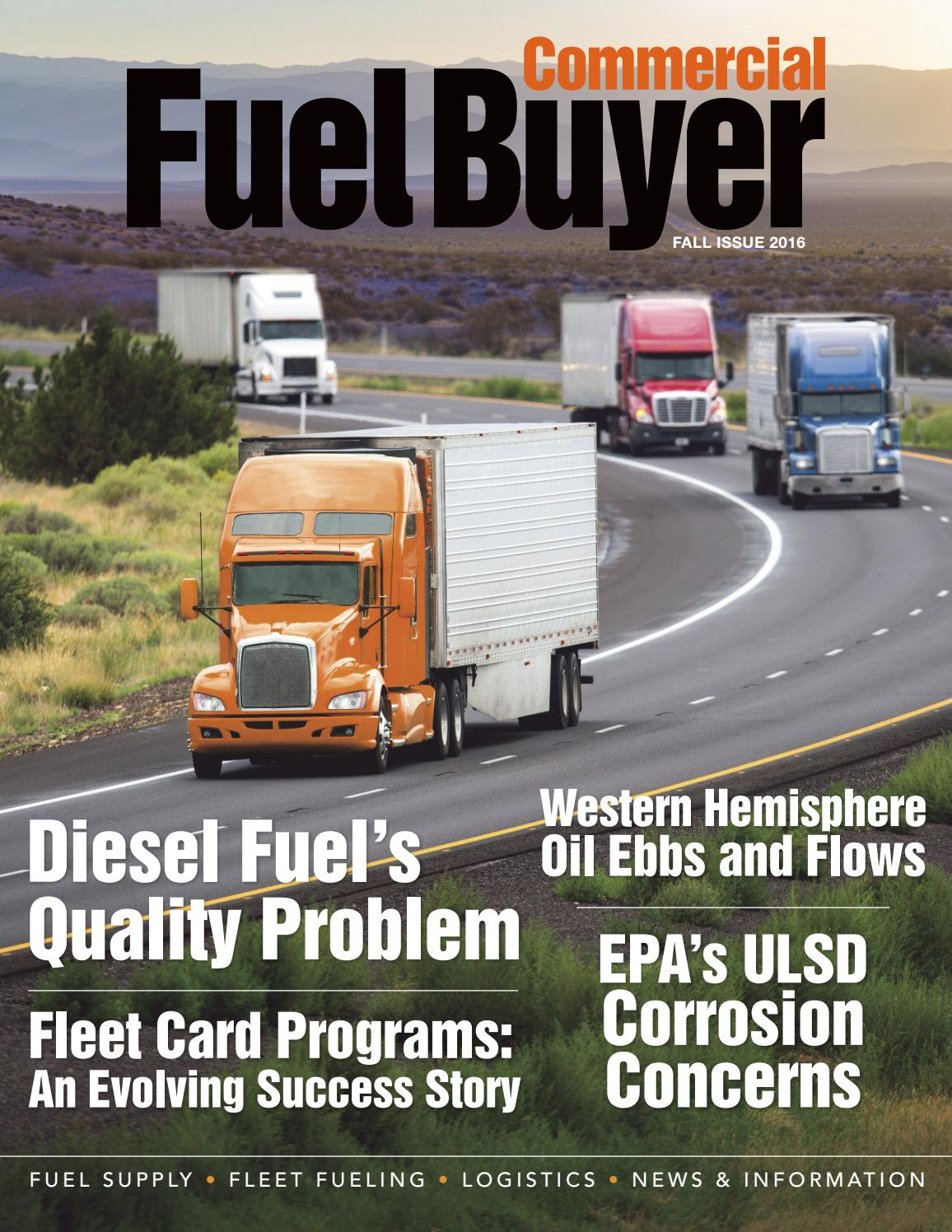 Commercial Fuel Buyer Fall 2016 by Fuels Market News - issuu
