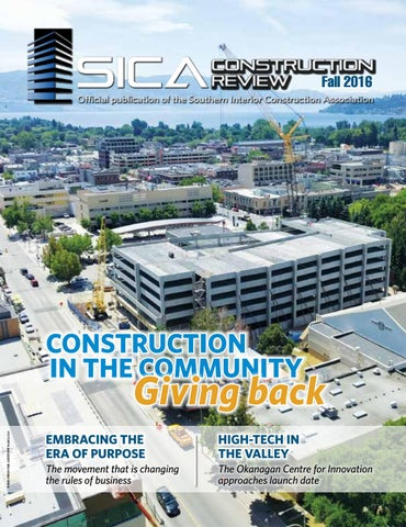 aaa93fab1fe2 SICA Construction Review Fall 2016 by SICAbc - issuu