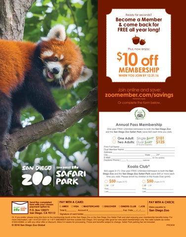 San diego zoo annual pass