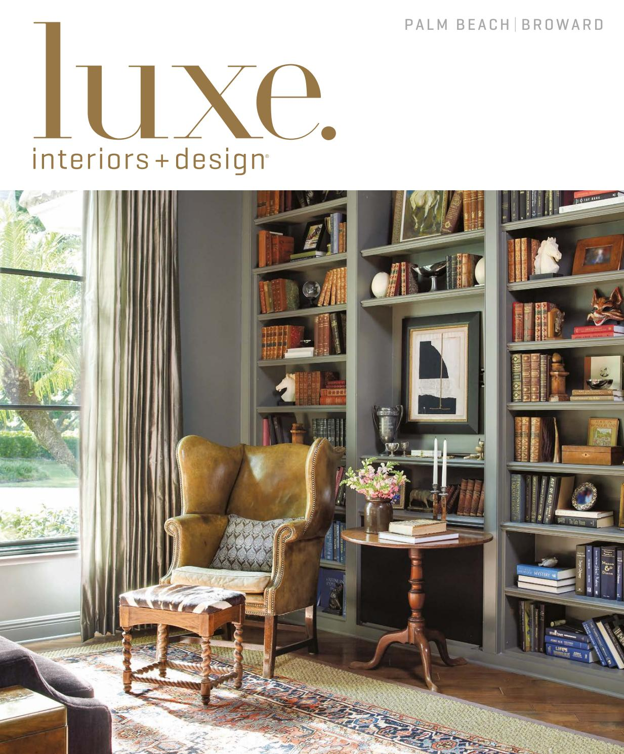Furniture For Less Miami: Luxe Magazine November 2016 Palm Beach By SANDOW®
