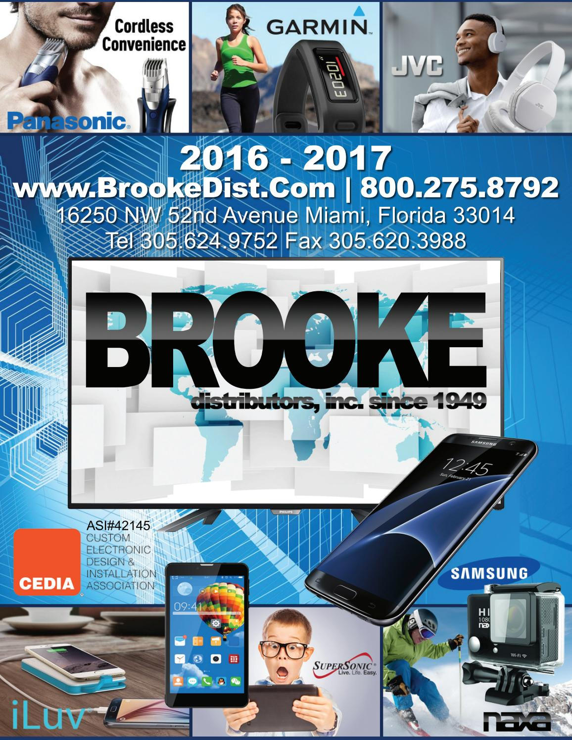 Brooke Distributors 2016 2017 Consumer Electronics Catalog By Jc Powerbank Adata Pv150 Leather Texture 10000mah Gonzalez Issuu