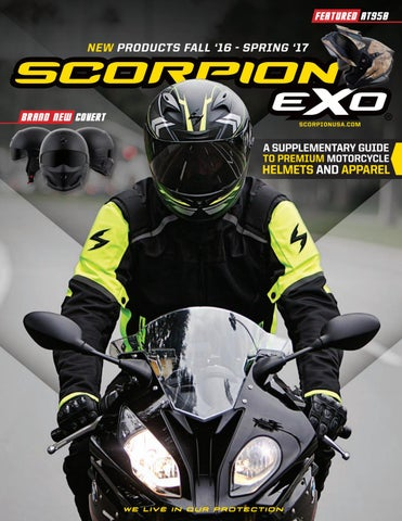 0e05446f Scorpion Sports USA 2015 Spring Catalog :: Digital by Scorpion Exo ...