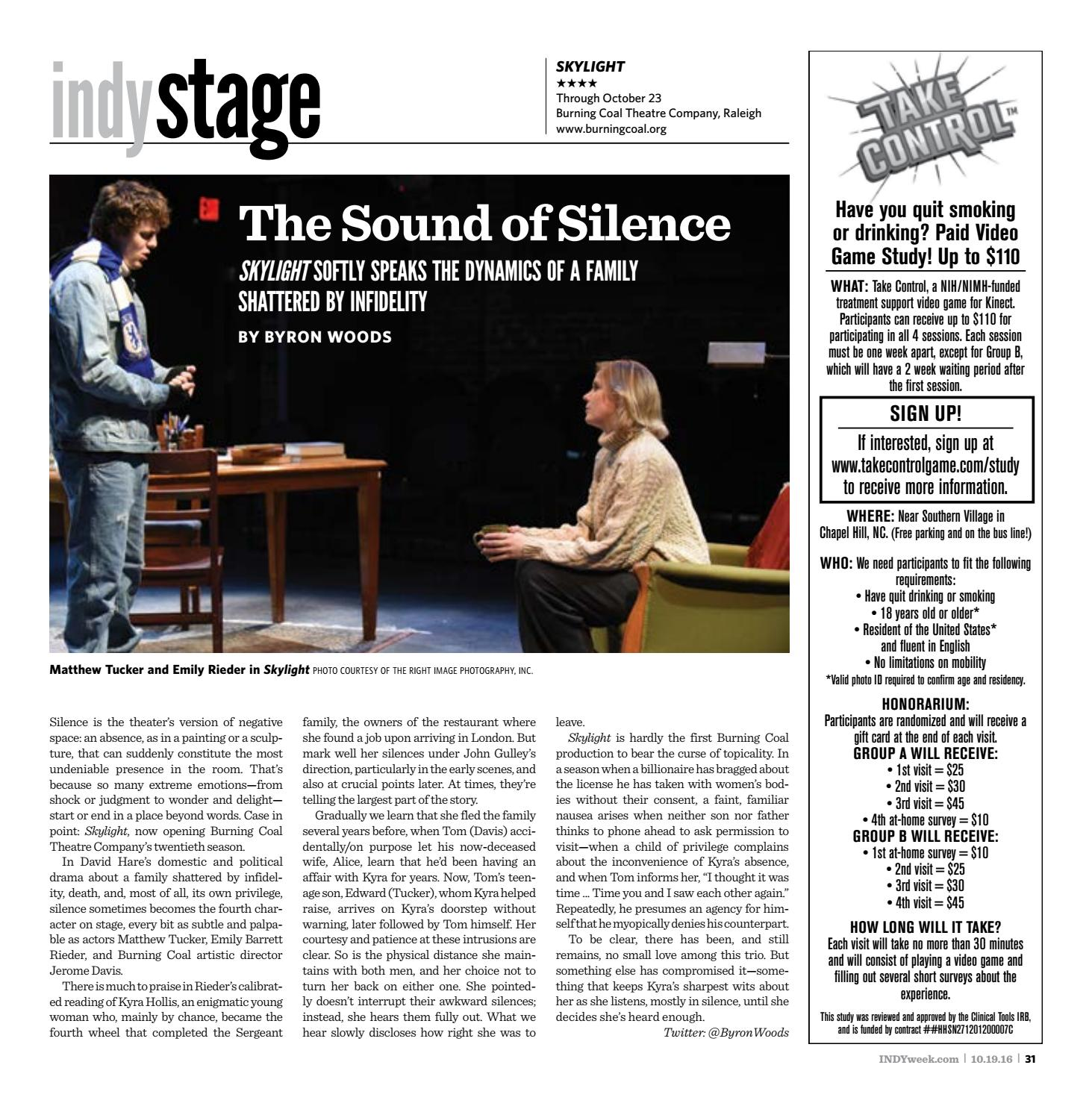 INDY Week 10.19.16 by Indy Week issuu