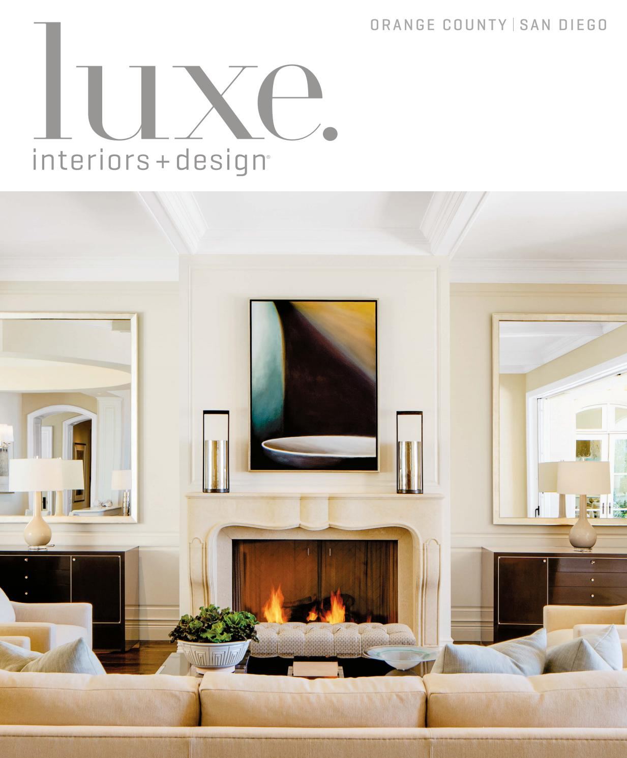 Tete De Lit Alcove luxe magazine november 2016 orange county/san diego