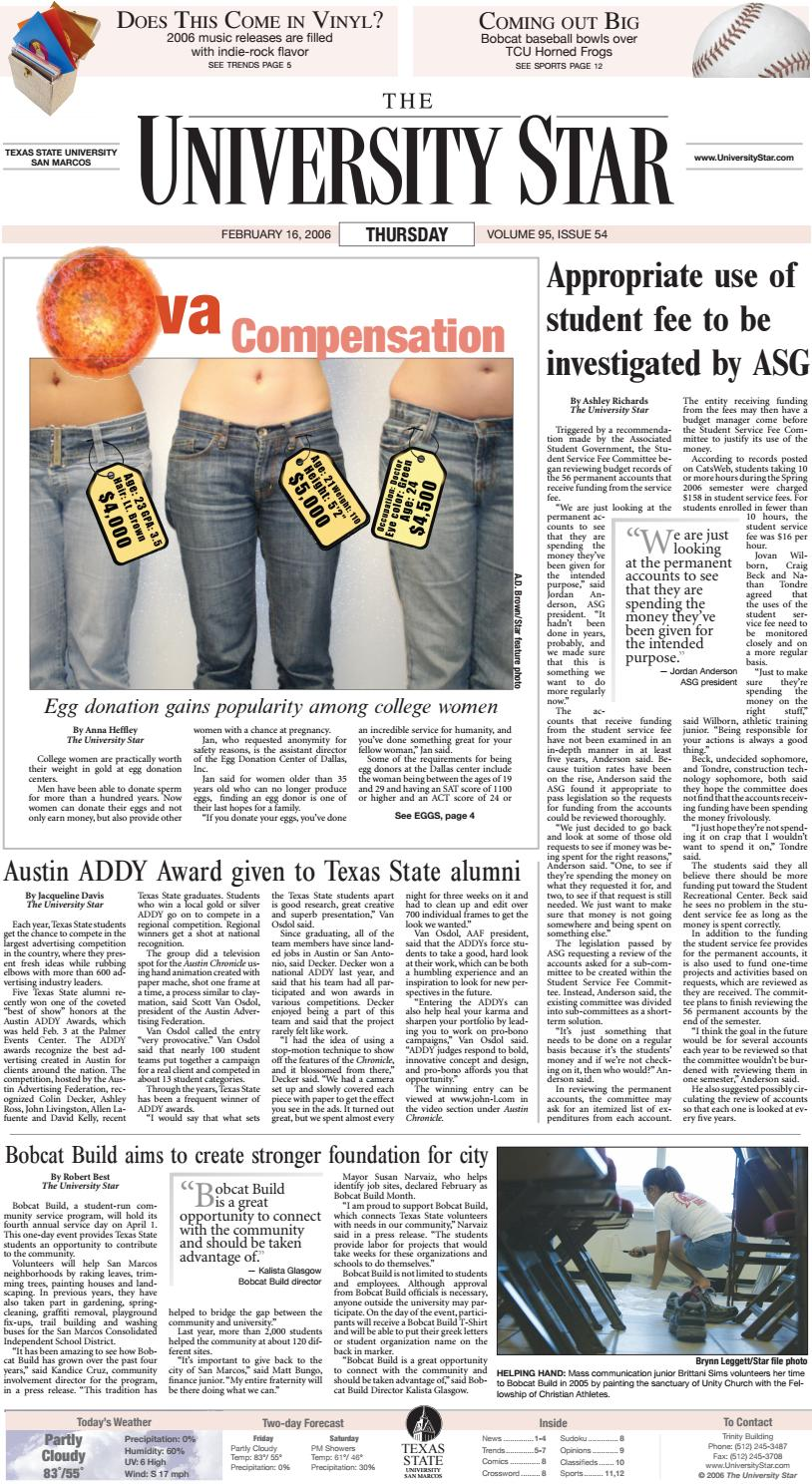 02 16 2006 By The University Star Issuu