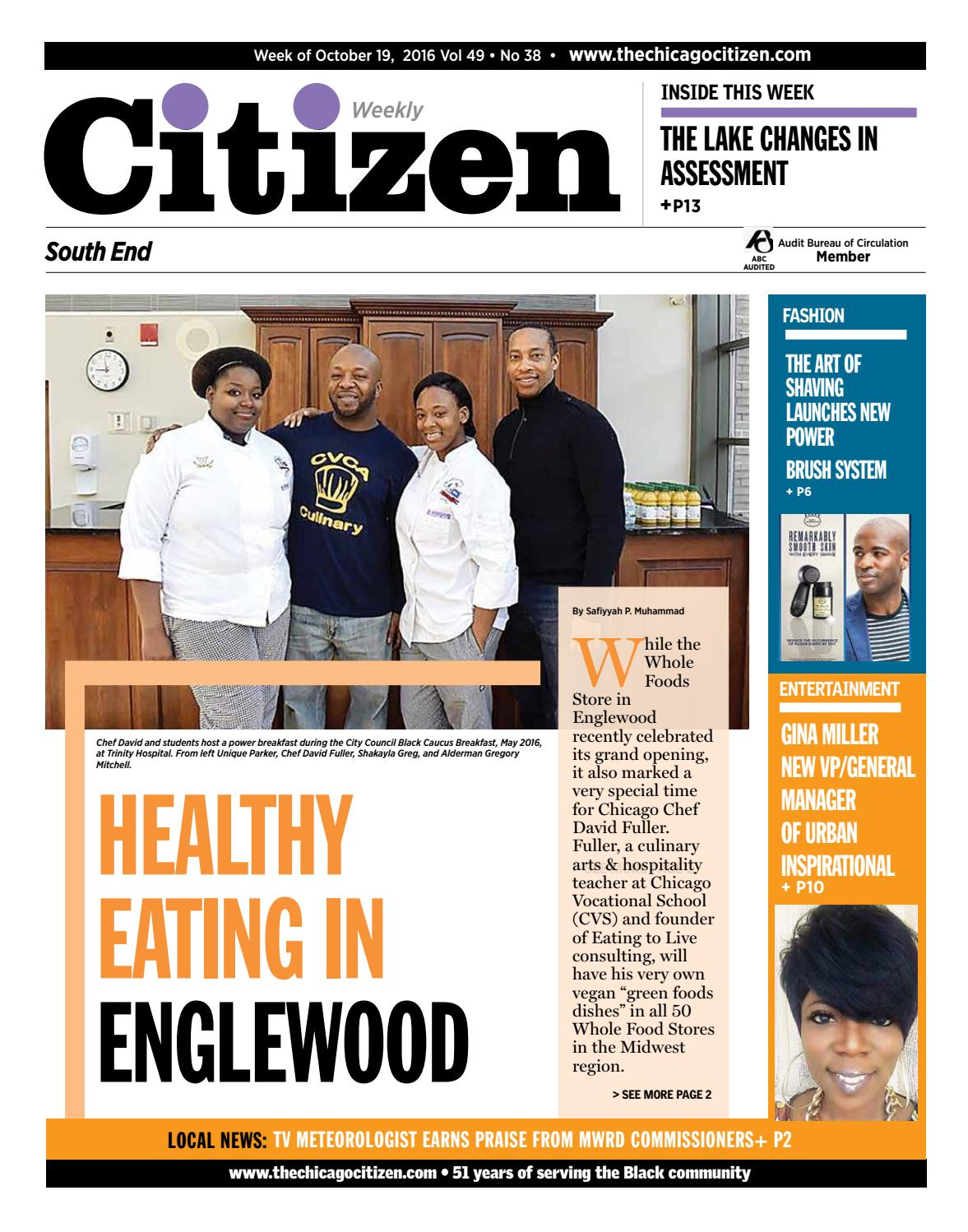 South End October 19 2016 By Chicago Citizen Newspapers Issuu Christmas Led Lights Circuit D Mohankumar 4060 Ldr