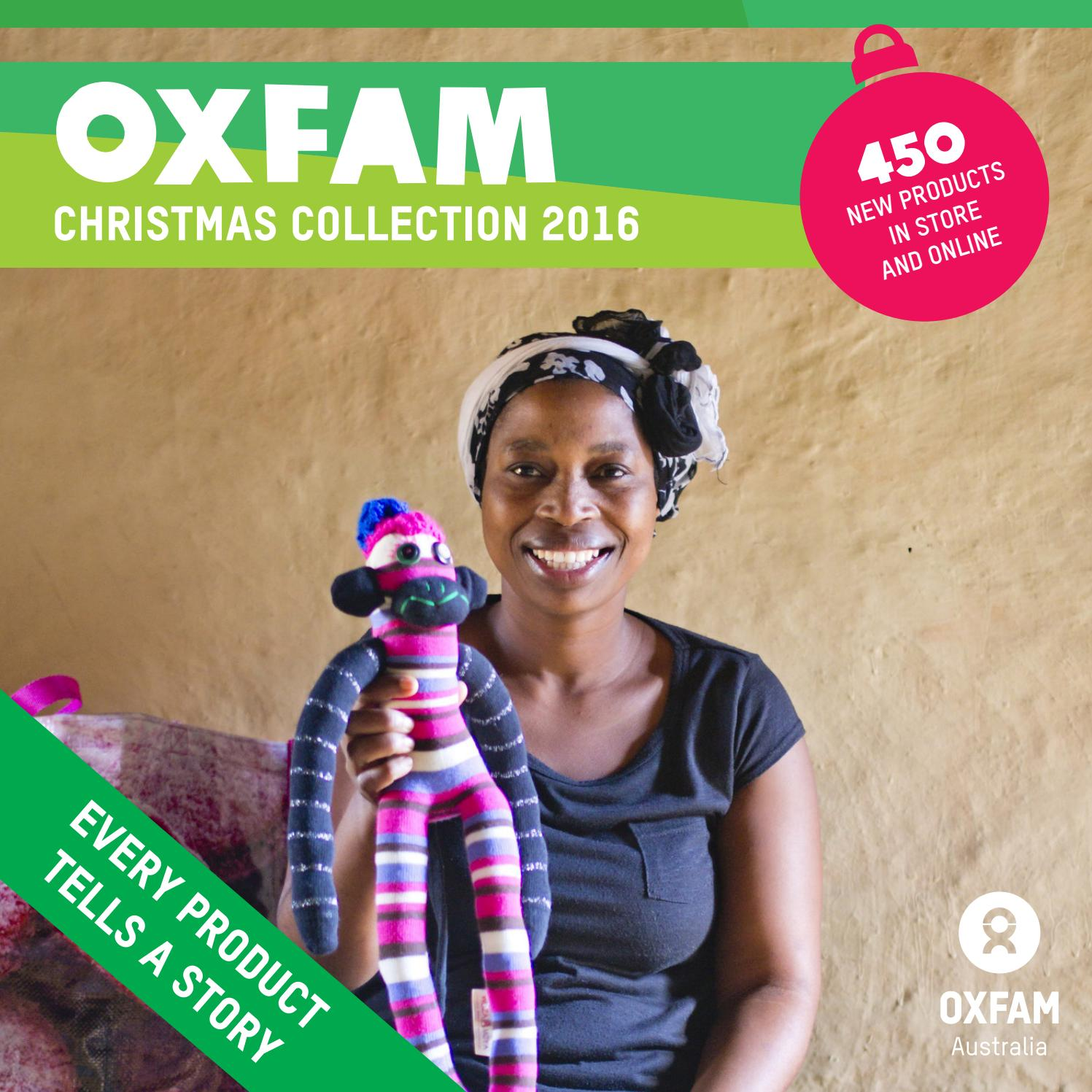 Oxfam Christmas Trees: 2016 Christmas Catalogue By Oxfam Shop