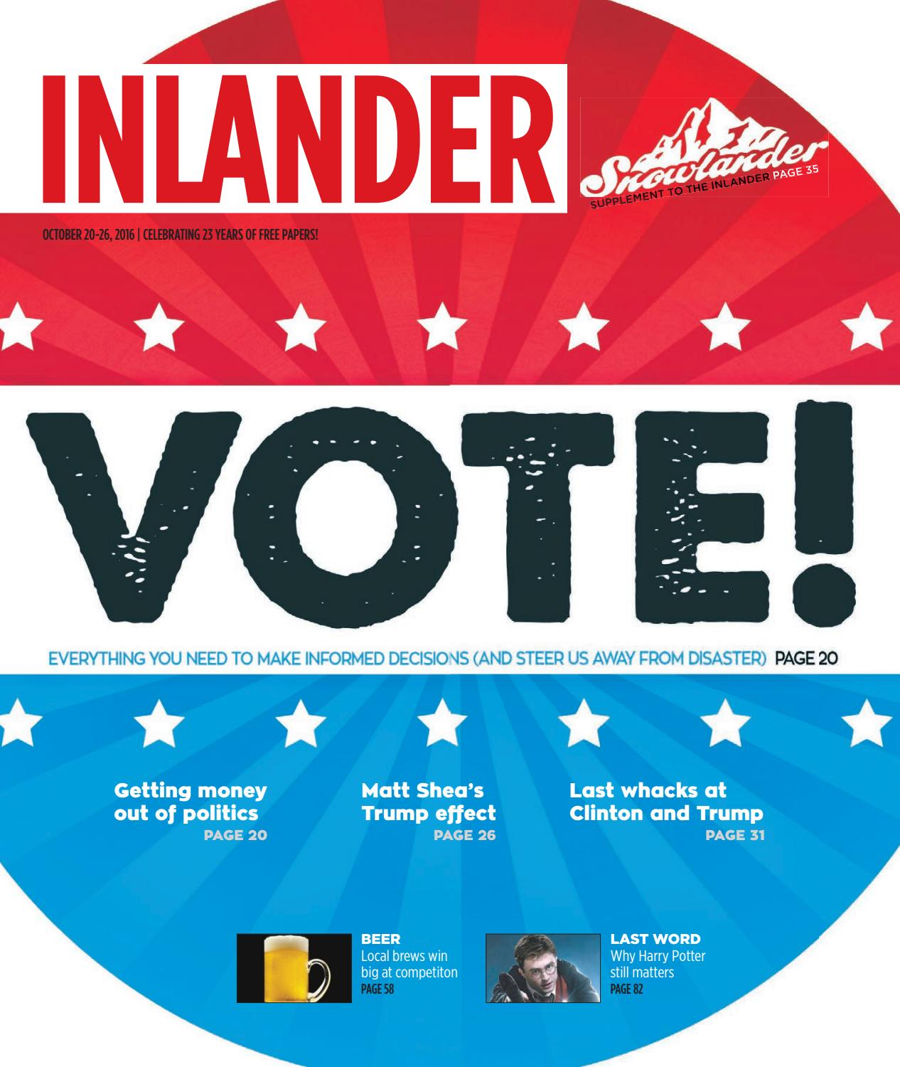 Inlander 10202016 by the inlander issuu fandeluxe Images