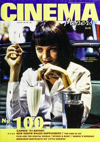 Cinema Papers No100 August 1994 By Uow Library Issuu