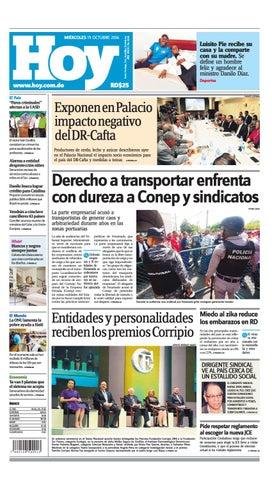 b12ad794f3c Periódico 19 de octubre, 2016 by Periodico Hoy - issuu
