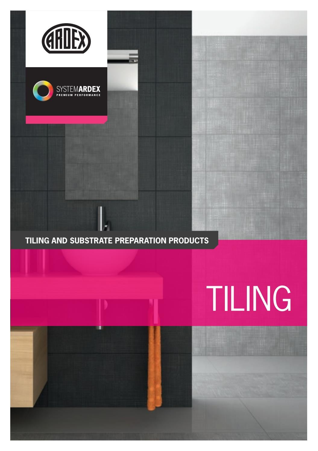 Ardex Tiling Product Brochure By Ardex Australia Issuu