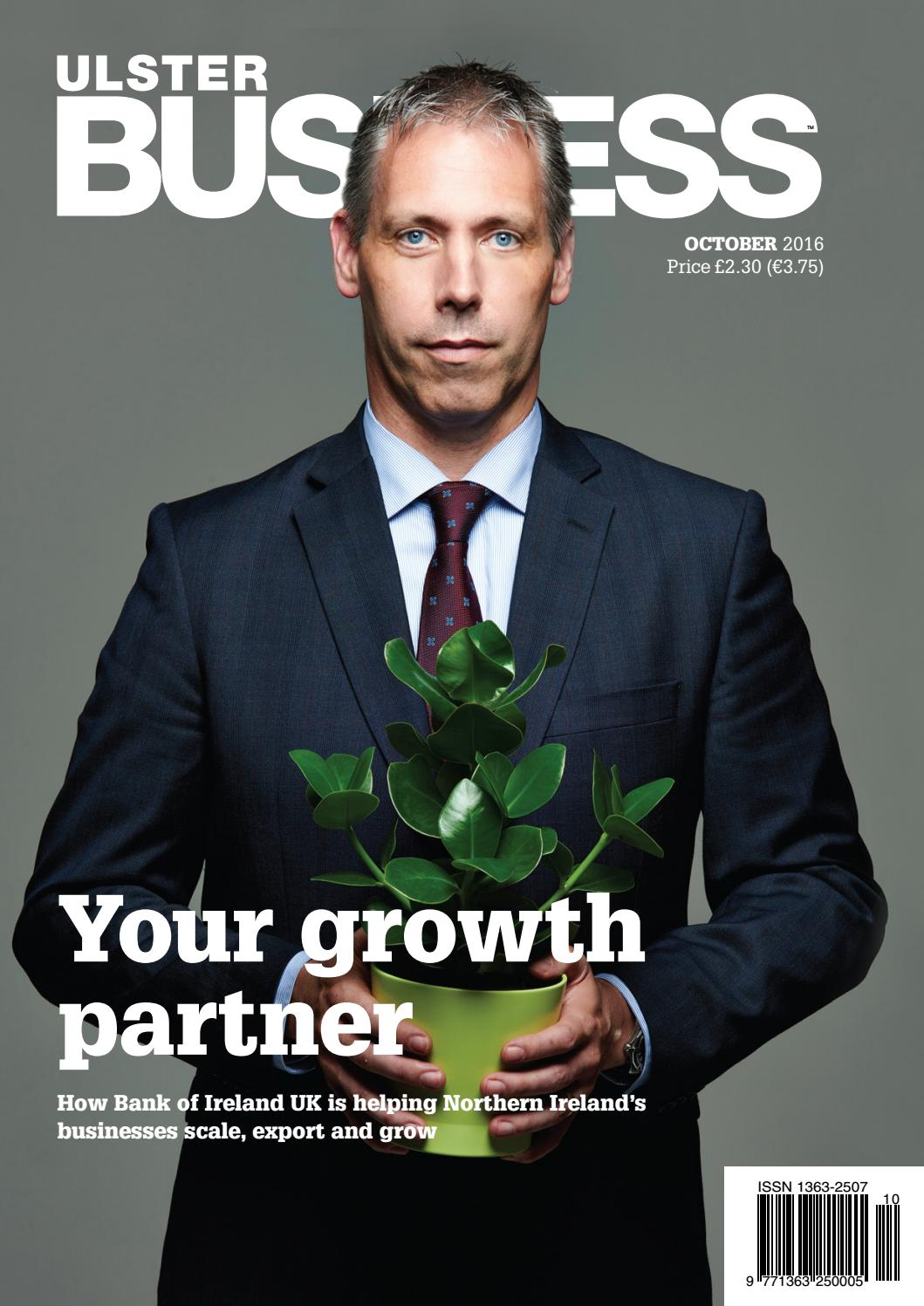 Ulster Business - October 2016 by Ulster Business - issuu