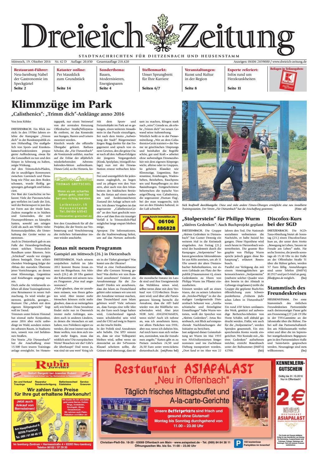 Dz online 8 8 d by Dreieich Zeitung/Offenbach Journal   issuu