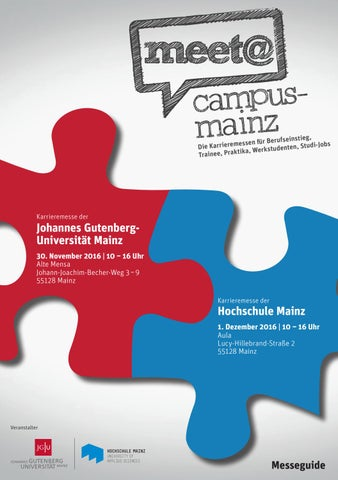 Messeguide meet campus mainz online by IQB Career Services AG - issuu