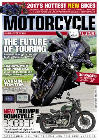 8e0fb20e5445 Motorcycle Sport   Leisure December 2016 preview by Mortons Media ...