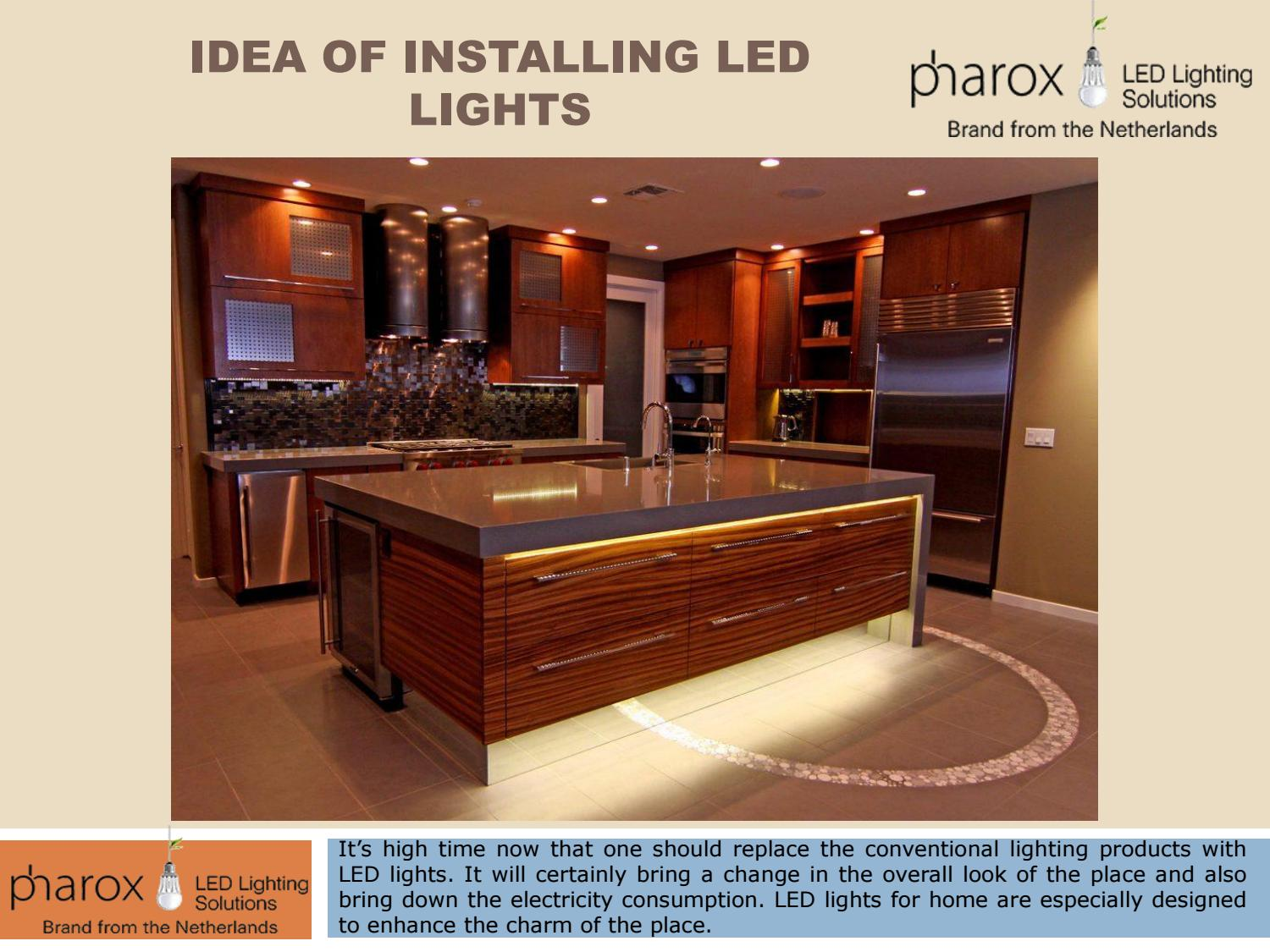 Creative Ideas To Install Led Lights By Pharox Lighting Issuu Wiring In A Home