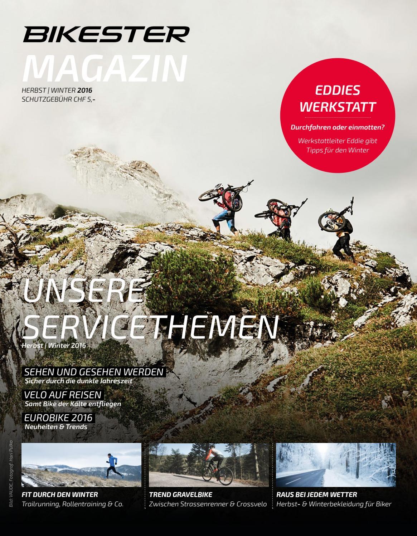 Bikester Magazin HW 16 by bikester.ch issuu