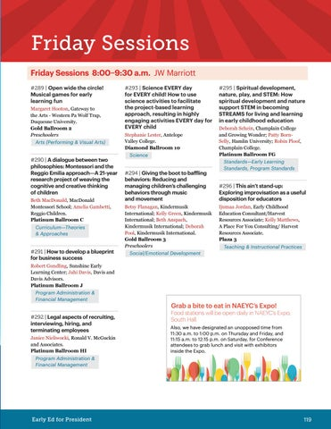 Naeycs 2016 annual conference program by naeyc issuu page 121 malvernweather Gallery