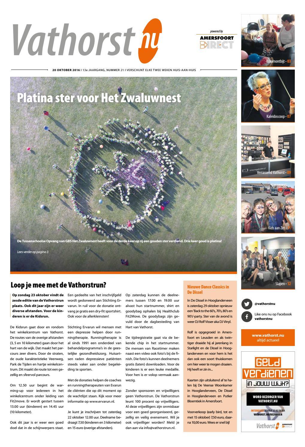 Vathorst.nu 20 oktober 2016 by Weekbladen Groep Amersfoort - issuu
