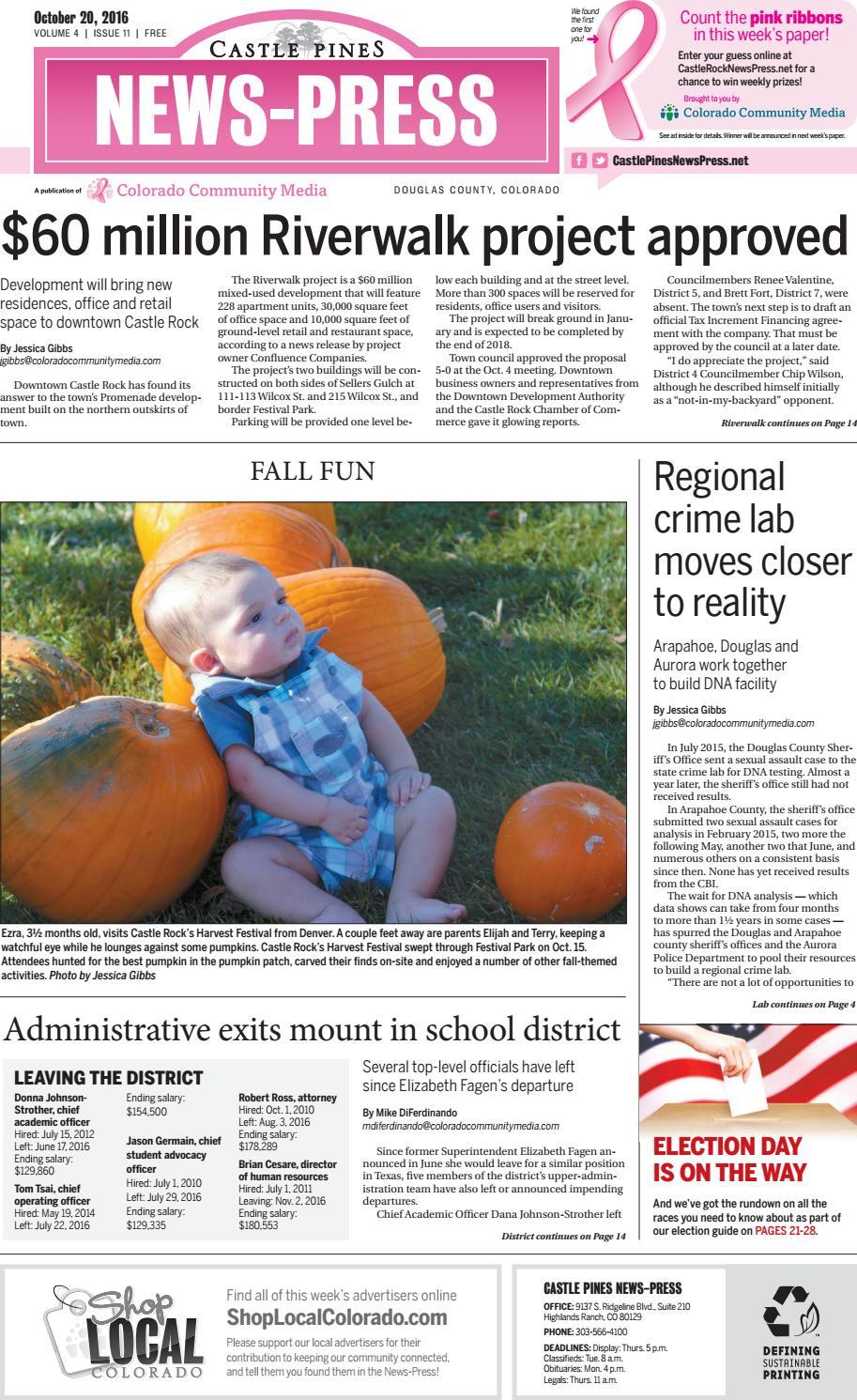 Castle Pines News-Press 1020 by Colorado Community Media - issuu