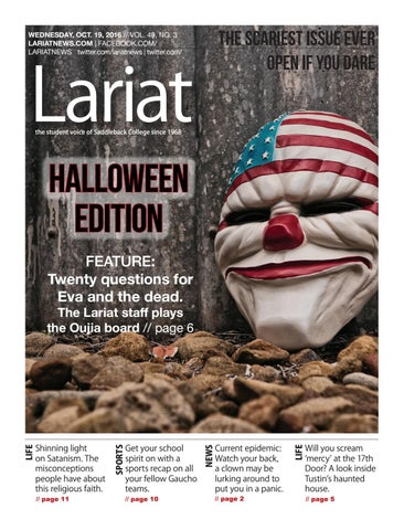 Vol 49, issue 3 (October 19, 2016) by Lariat - issuu