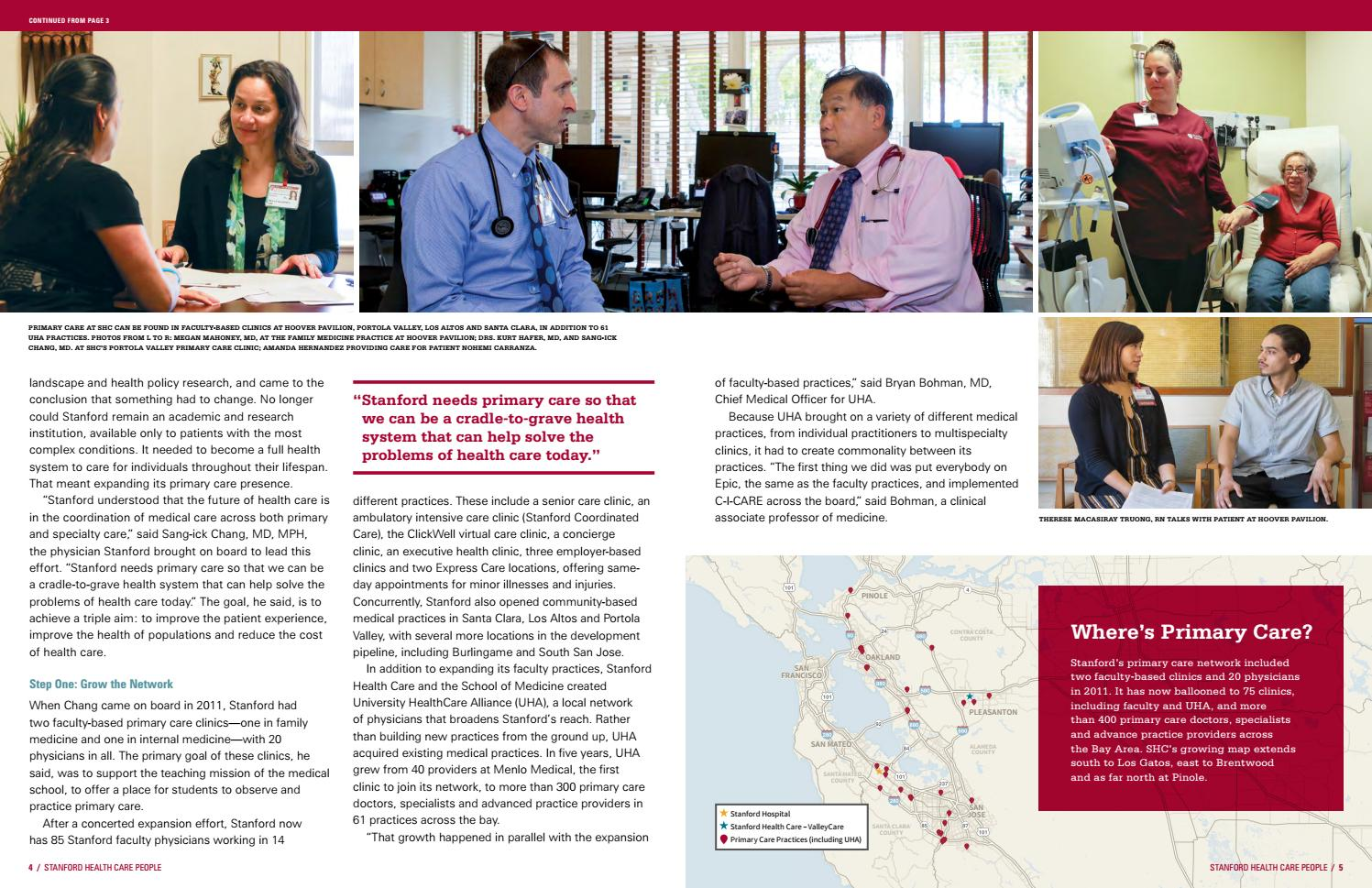 Stanford Health Care People - Fall 2016 by Stanford Health